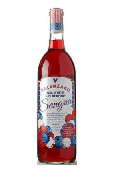Valenzano Red, White & Blueberry Sangria