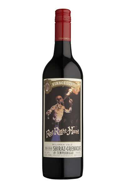 Vinaceous! Red Right Hand