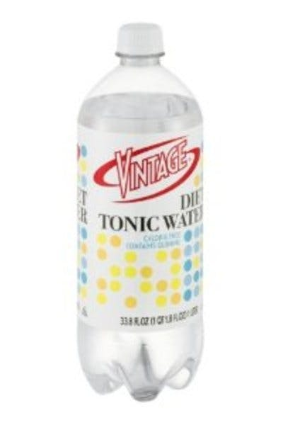 Vintage Diet Tonic Water
