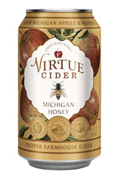 Virtue Cider Michigan Honey Farmhouse Cider