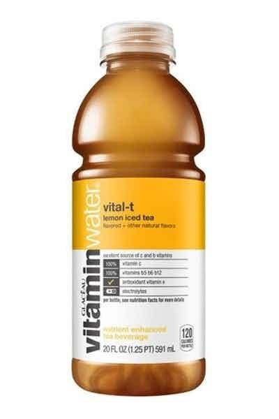 Vitamin Water Lemon Ice Tea
