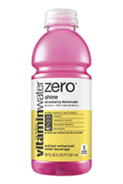 Vitamin Water Zero Shine Strawberry Lemonade