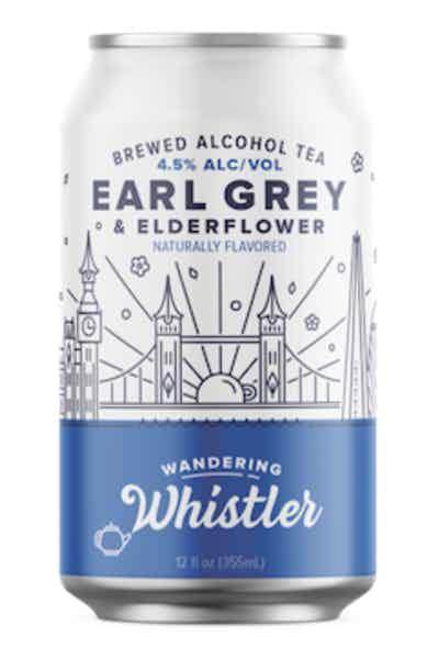 Wandering Whistler Earl Grey & Elderflower Brewed Alcohol Tea
