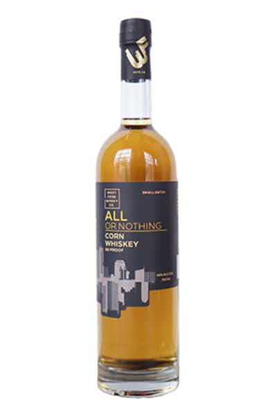 All Or Nothing Corn Whiskey