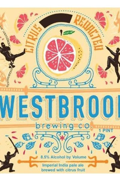 Westbrook Citrus Redacted IPA