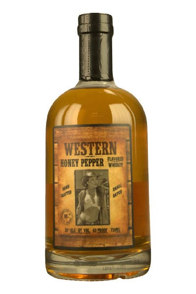 Western Honey Pepper Whiskey