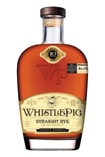 WhistlePig Rye Whiskey 10 Year Batch #9 - BevMo! Private Collection
