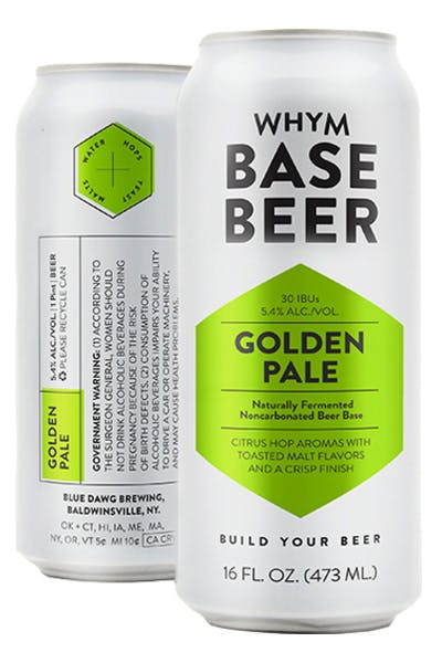 WHYM Golden Pale Base Beer