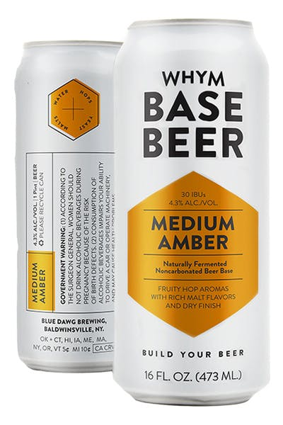 WHYM Medium Amber Base Beer