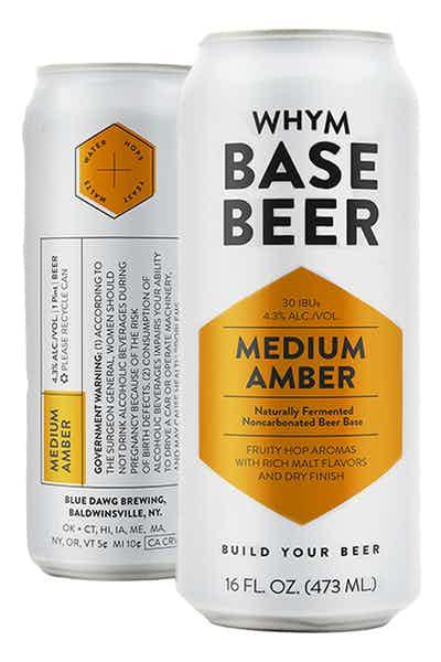WHYM Medium Amber Base Beer
