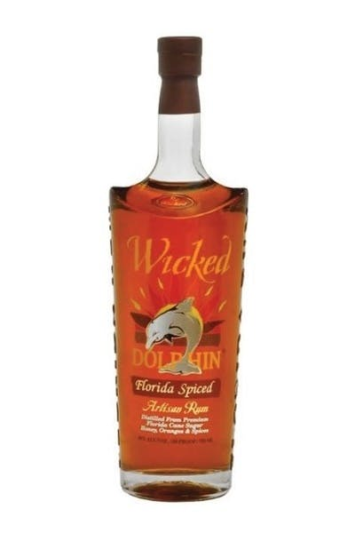 Wicked Dolphin Spiced Reserve Rum
