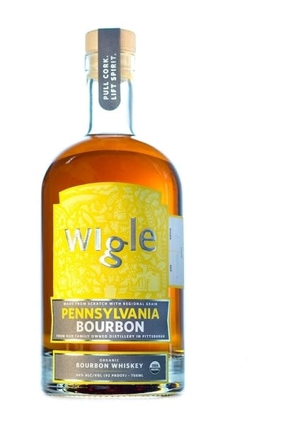 Wigle Organic Bourbon Whiskey