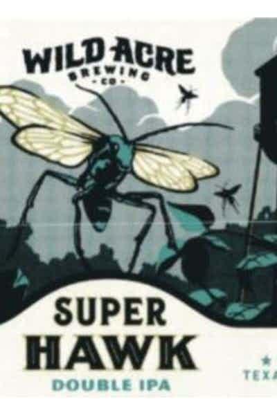 Wild Acre Super Hawk Double IPA