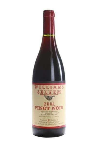 Williams Selyem Yorkville Highlands Weir Vineyard Pinot Noir