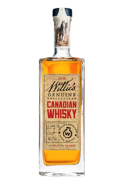 Willie's Genuine Canadian Whiskey