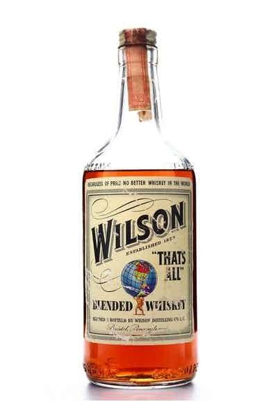 Wilson American Blended Whiskey