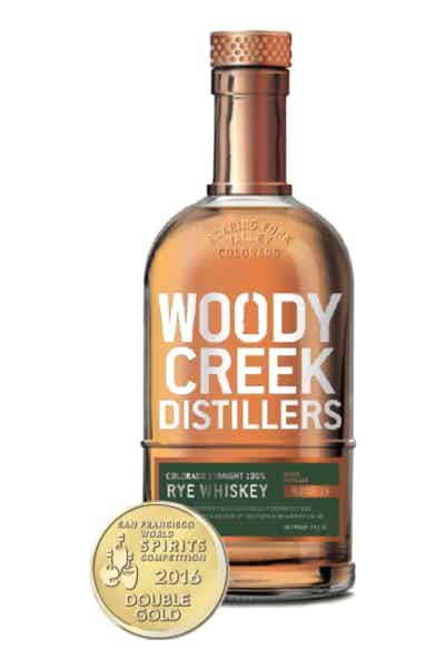 Woody Creek Distillers Rye Whiskey
