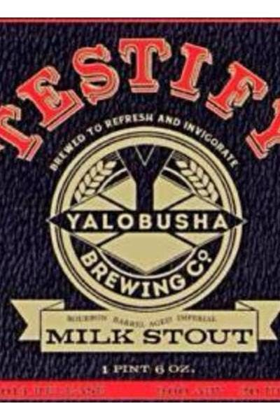 Yalobusha Testify Milk Stout