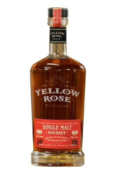 Yellow Rose Single Malt Whiskey