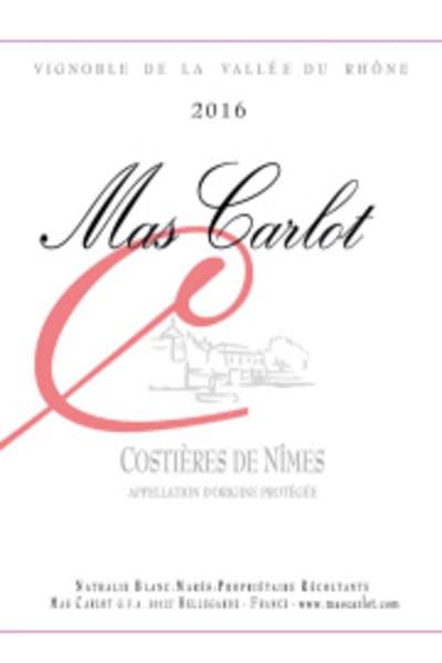 Mas Carlot Costières de Nîmes Rosé