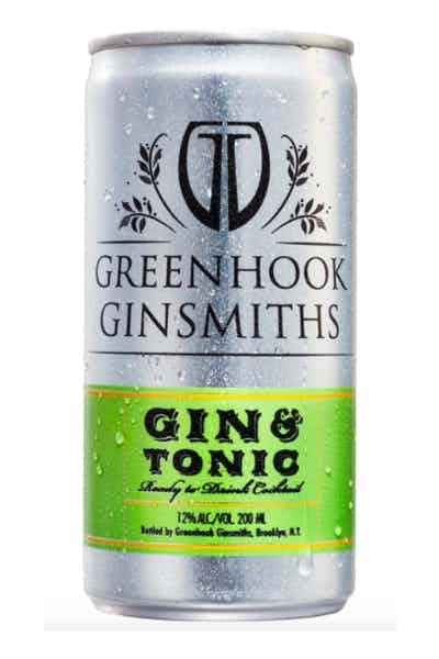 Greenhook Ginsmiths Gin And Tonic